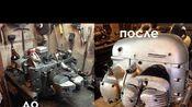 [搬] Сергей Гержа 毛子750 摩托车发动机组装