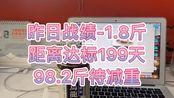 200天挑战减肥100斤/ 王大蕾下定决心系列-首日战绩 e1.8/ 100