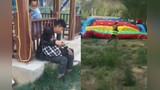 【河南】孟州一游乐设施被大风吹翻 6名儿童受伤