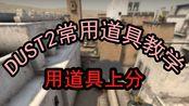 [CSGO道具教学]DUST2的进攻:常规道具!!炙热沙城!