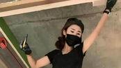 最美农民工:现在能吃苦的女孩不多,这是我见过的最美的女装修工