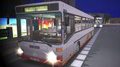 巴士模拟2 #47 : 虚拟广州·长湴市·3.3版本 夜66路 开往赤岗北路 感谢omsi的召唤长期提供被视频   MB O407
