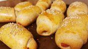 全麦肉松火腿小面包,全麦也可以又松又软。最近比较高产,说明最近压力比较大,需要制作并且享用美食来解压。每次都是晚上烤了发出来,不太厚道,嘻嘻