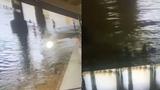 14岁男孩假装溺水后真溺水了 滑入江中在水里挣扎