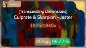 badeu   Culprate & Skorpion - Jester [Transcending Dimensions] 98.77% {#2 351pp