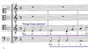 Josquin - Missa Pange Lingua - 1. Kyrie