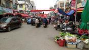 实拍广西贺州市信都镇,这里摩托电瓶车大军充斥整个街道