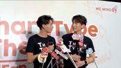 【中字】TharnType Fanmeeting in BKK 「会不会成为真的情侣,生日礼物,自成结界」 见面会前采访3个片段 「2020.02.09」