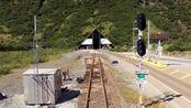 特别的火车汽车隧道 - 美国阿拉斯加惠蒂尔隧道