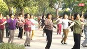 忻州八音会2016年忻州老牛街拍古钟公园广场晨练健身操VTS_01_11