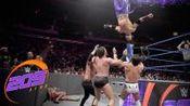 WWE轻量级:冠军德鲁古拉带领托尼尼斯赛前搞偷袭 2打2演变成3打3
