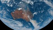 持续4个多月的澳洲大火最近4天 8k卫星航拍——暖冬特别——关爱野生动物