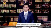 """[湖南新闻联播]湖南省2名省管领导干部严重违纪违法被""""双开"""""""