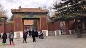 参观北京的雍和宫,以前这里是雍正的府邸叫雍亲王府,六进的院落