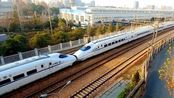 重联的和谐号动车!两列CRH2A组成的D2188次由杭州开往宜昌东
