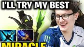 【Miracle】Tried His Best With Rubick Mid Lane