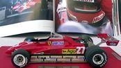 【汽车模型】BBR 1:18 法拉利F1 126C2 吉尔斯 维伦纽夫 1982圣马力诺大奖赛版