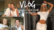 【Suede Brooks】最近日常vlog | Vegan Cooking With Mom, Filming Collabs, & More!