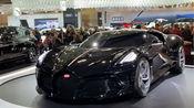 加拿大国际车展 布加迪最贵Bugatti La Voiture Noire 1100万欧元 1500hp 8.0 公升 Quad-turbo W16 全球一台