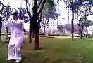 江苏省淮安市淮阴区太极拳协会卜永陈氏太极拳演练2012.7.15