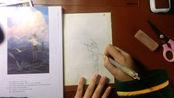 绘画临摹,打底稿(第一期)