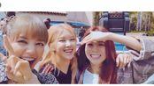 甜美的blackpink,LISA自制MV非常值得一看,时间拨回8月深秋澳洲和6月初夏美国……