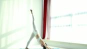 HyunA Training-Hip open Surya Namaskara