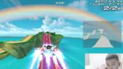 QQ飞车严斌,幸运大奖赛遇水友彩虹风车岛超级飘秀起来了