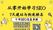 【2019年0基础SEO优化教学】如何快速提升一个网站的权重