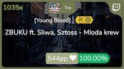 [Live] Toy | ZBUKU ft. Sliwa, Sztoss - Mloda krew [Young Blood] +HDHR SS {#1 ???