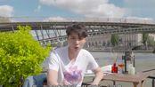 张艺兴gq五十问,享受巴黎河畔温暖的阳光,给自己放个假