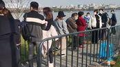 【浙江】西湖春来早口罩不能少!超5000人昨日涌向西湖断桥