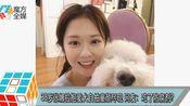 38岁张娜拉抱爱犬自拍童颜尽现 网友:吃了防腐剂!