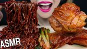 【evlin】助眠黑豆面,巨无霸烤鸡,必和必拓吃音木桶(2019年10月17日22时45分)