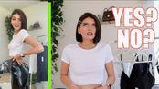 【micaelakbeauty】试穿Amanda Steele的自主品牌单品 | CLOTHING BRAND? (try on haul) | MKB