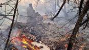切尔诺贝利核禁区发生森林大火,138名消防员灭火