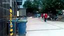 【www.56zw.com】【手机拍客】北京再迎暴雨 广渠门桥超高规格防汛