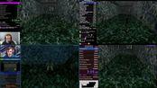古墓丽影2世界最快通关前四名(官方认证),4人同屏对比。