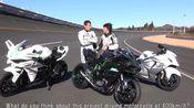 Road to 400km/h.Kawasaki Ninja H2R Maximum Speed Test