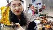 贵州30年面馆,人再多一次只煮一碗!20盆料摆一桌,12元能加肥肠猪血