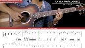 吉他教程Eric Clapton - Layla