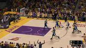 NBA2K:谁说纳什不能身体对抗?篮下成功打成2+1