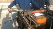 江苏天筑不锈钢雕塑厂家园林景观厂房全自动数控滚圆机滚圆过程二