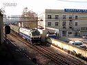 2012年1月25日14点31分7102次黄山-南京西驶出中华门站