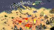"""自制mod《红色警戒:世界战火》,下载请看简介加群,2玩家+1电脑 VS 3电脑,带超武海战,主视角""""东欧自由阵线"""""""
