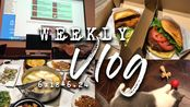 VLOG | 生活周记6.18-6.24 | 美国大学的课堂是什么样的(上课吃披萨?!) | 撸猫现场 | 高中同学聚会 | 回上海啦
