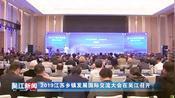 2019江苏乡镇发展国际交流大会在吴江召开