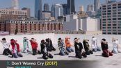 SEVENTEEN MV播放量Top25 [2020 2月份]