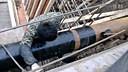 燃气管道做防腐施工现场 视频1  热收缩套www.jsdas.com
