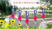 红裙起舞广场舞[就爱广场舞】编舞,开心飞